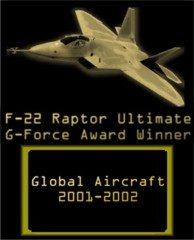 F-22 G-Force Award