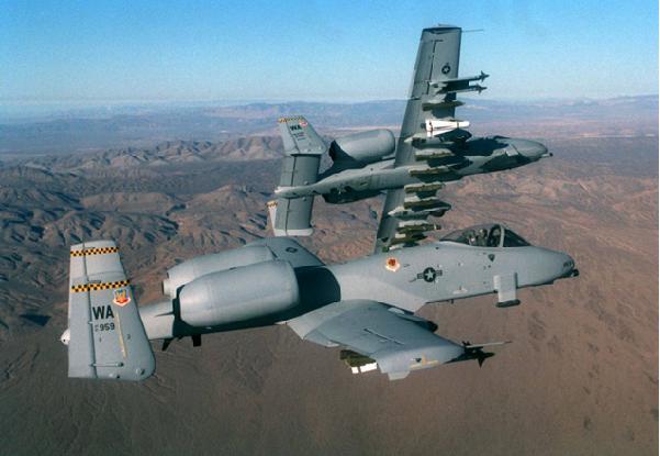 Global aircraft a 10 thunderbolt ii warthog