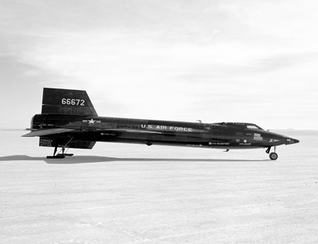 X 15 Global Aircraft -- X-15