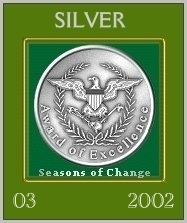 The Seasons of Change Silver Award
