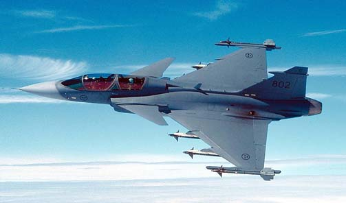 Gripen Fighter Jets