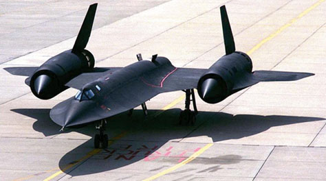 Image result for sr-71 blackbird